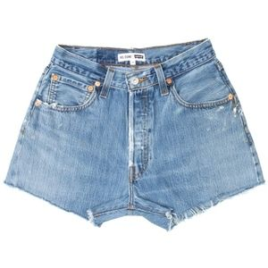 Re/Done Jean Shorts (*EXACT AS IN PHOTO*)